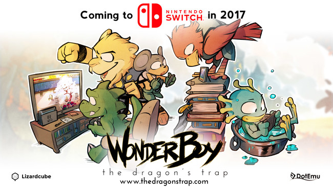 Wonder Boy The Dragons Trap Nintendo Switch