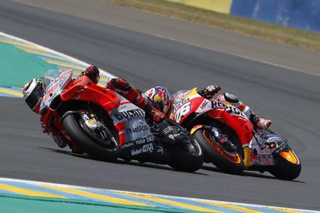 Jorge Lorenzo Marc Marquez Gp Francia Motogp 2018