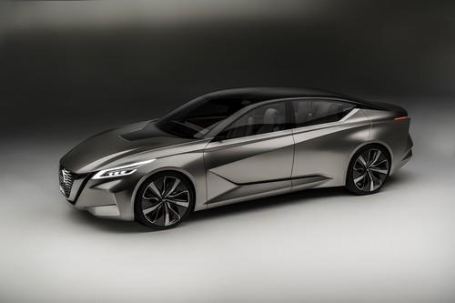 Nissan Vmotion 2.0 Concept, así serán los futuros sedanes de la marca japonesa