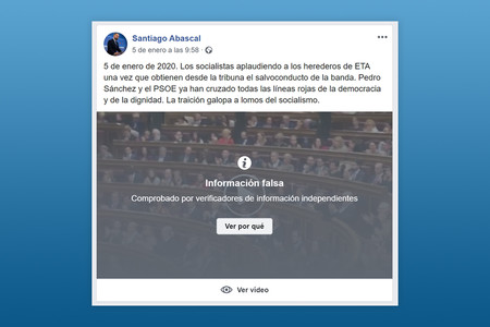 """¿Un buen paso? Facebook ya marca como """"objetivamente falsas"""" las publicaciones de los políticos"""