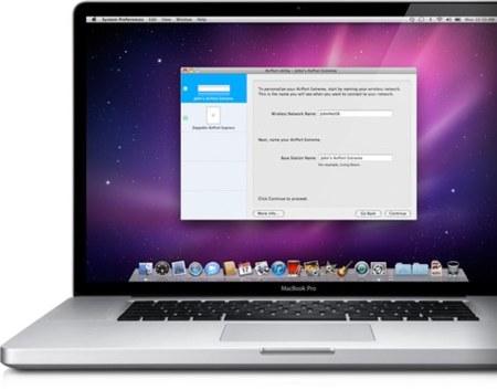 Configurando una red inalámbrica  en un Airport Extreme desde un MacBook Pro