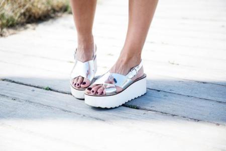 Las sandalias si se presentan en flatform... Son mejores