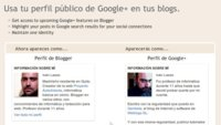 Google ya permite sustituir el perfil de Blogger por el de Google+