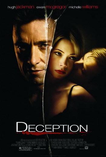 Póster y trailer de 'Deception', con Ewan McGregor y Hugh Jackman