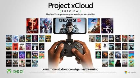 """XCloud: el servicio de streaming de Xbox será """"gratis"""" con GamePass, 50 juegos para 2020 y compatibilidad con el DualShock de PS4"""