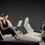 Volvo S90 Excellence Interior Concept: tres plazas, pero lujo extremo para una sola persona