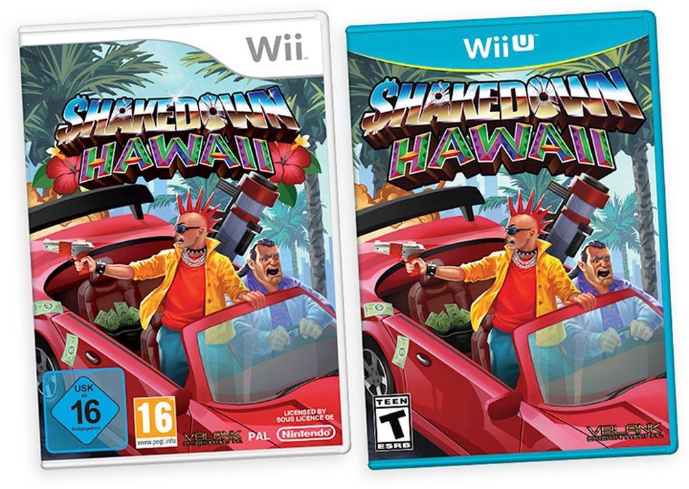 Tanto Wii como Wii U recibirán otro juego este 2020 y no será (por ahora) otro Just Dance, sino Shakedown: Hawaii