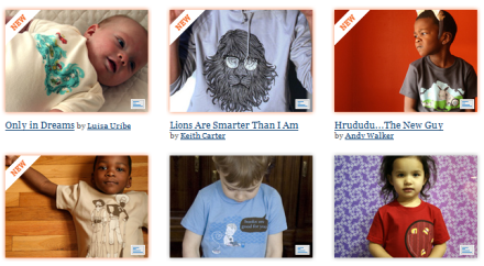 Threadless, camisetas de diseño para toda la familia