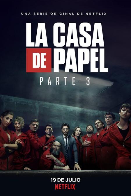Casa De Papel Poster Tercera Temporada