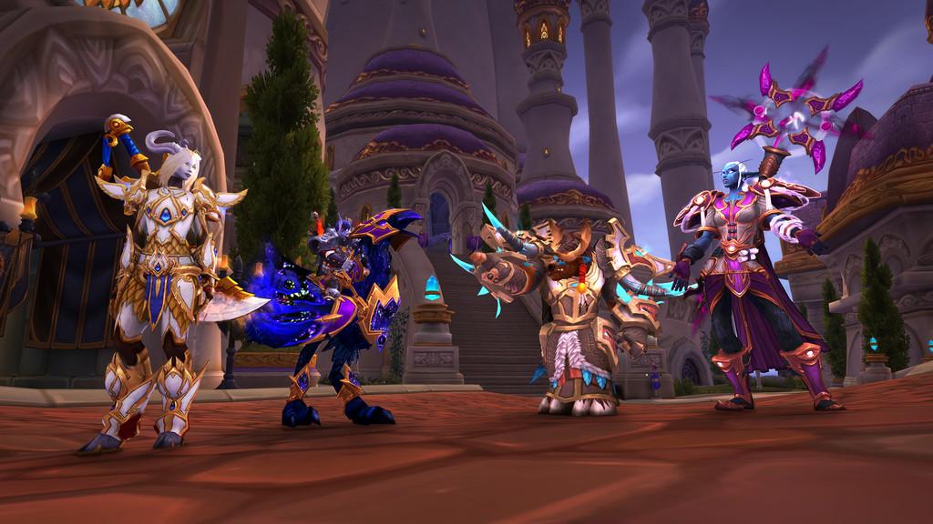 World Of Warcraft Razas Aliadas