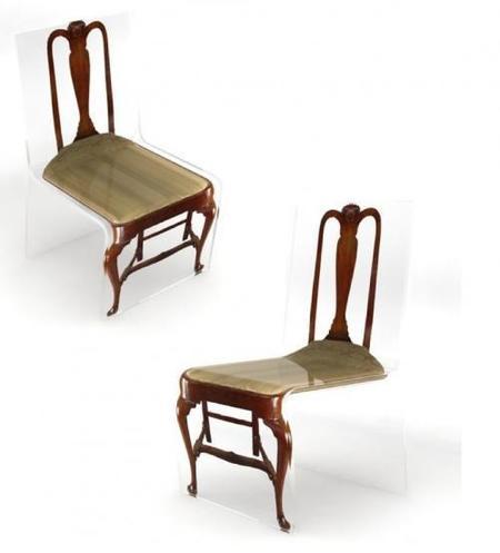 muebles acrílicos sillas