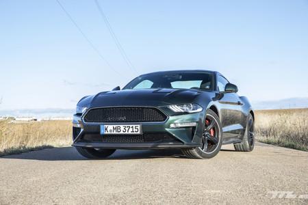 Ford Mustang Bullitt frontal lateral
