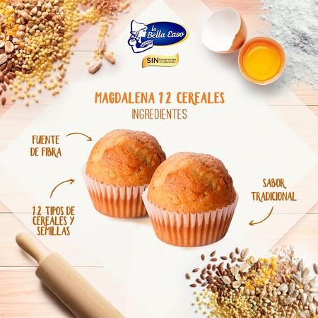 Magdalenas Cereales