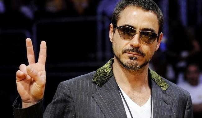 Imagen del actor Robert Downey Jr.
