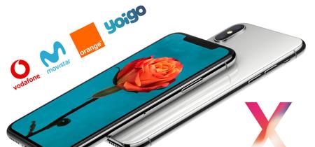 ¿Dónde comprar el iPhone X más barato? Comparativa de precios a plazos con operadores móviles