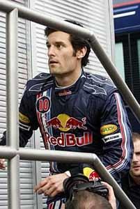 Webber admite que el RB4 iba muy descargado