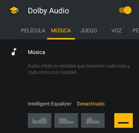 Sonido Dolby en el Motorola One