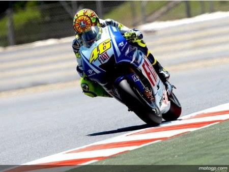 Gran Premio de Catalunya: Rossi primero, pero el domingo no será fácil