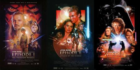 Starwars Prequel Posters