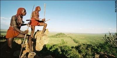 Guía de Londres para guerreros Masai