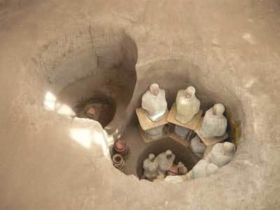 Las espectaculares tumbas de los indios quitu, en Ecuador