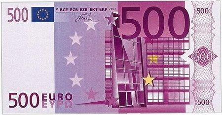 El europio: el secreto que hace difícil que puedas falsificar un billete de 500 euros