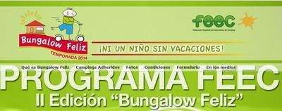 'Bungalow feliz' repite iniciativa para facilitar vacaciones a familias de desempleados con hijos