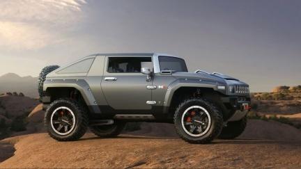 Hummer HX Concept, las imágenes oficiales