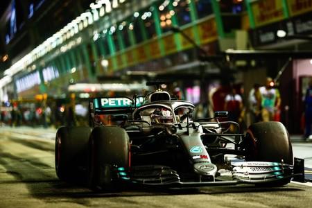 Hamilton Singapur F1 2019