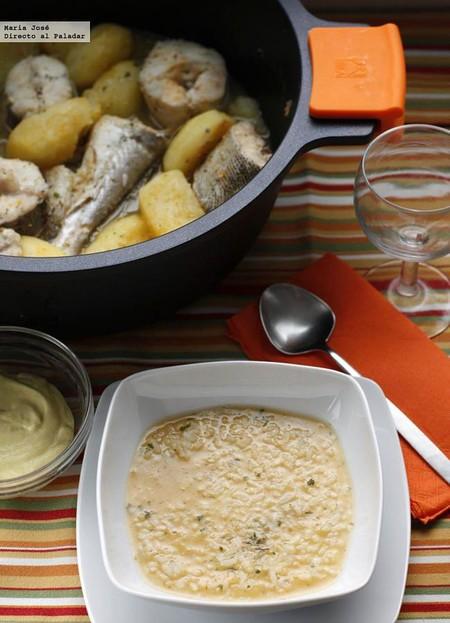 Bullit de peix o guiso de pescado, receta tradicional ibicenca para chuparse los dedos