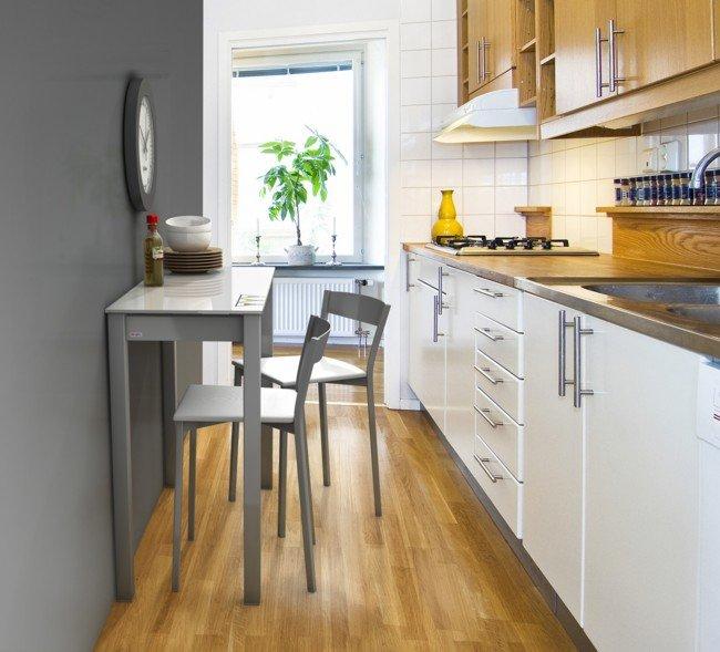 Mesas single de cancio nuevos modelos para cocinas peque as - Aprovechar cocinas pequenas ...