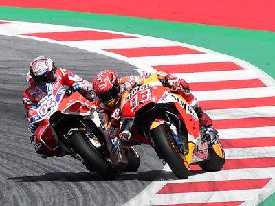 """Andrea Dovizioso: """"Si hay algo malo en una última vuelta, es llevar a Marc Márquez detrás"""""""