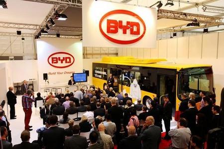 BYD planea abrir una fábrica de autobuses eléctricos en Europa