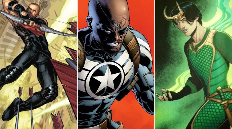 De Nick Furia a la vestimenta de Ojo de Halcón: de este modo han cambiado los comics Marvel para adaptarse al MCU