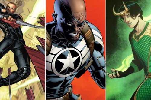 De Nick Furia a la vestimenta de Ojo de Halcón: así han cambiado los comics Marvel para adaptarse al MCU
