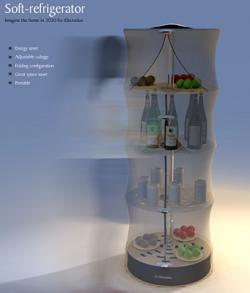 Soft refrigerator, un frigorífico flexible y futurista
