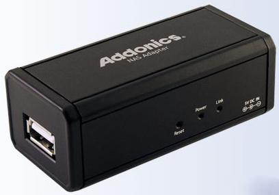 Addonics NAS, de disco USB a disco en red