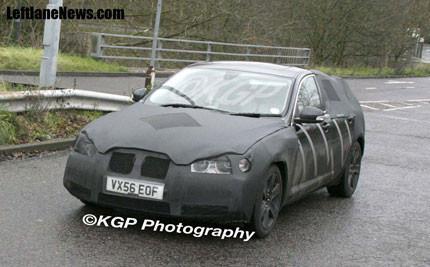 Jaguar XF, fotos espías el interior