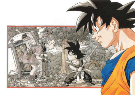 Dragonball Comic 0