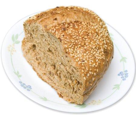 Pan tostado integral para adelgazar
