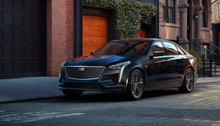 El Cadillac CT6 estrena versión V-Sport: una super berlina V8 biturbo de 550 CV y tracción total