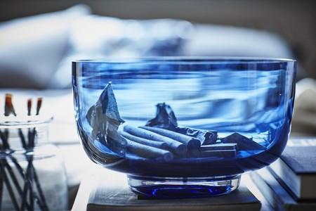 Ikea Coleccion Stockholm 2017 Ph141742 Cuenco Vidrio Azul Lowres