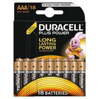 Oferta flash en pilas Duracell de tipo AA y AAA en Amazon: sólo hasta medianoche cuestan 12,99 euros el pack de 18 unidades