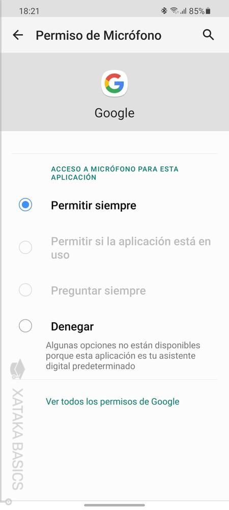 Un Permiso Una App