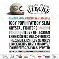Motor Circus pone música al GP de España: Iggy Pop, The Zombie Kids, Crystal Fighters...