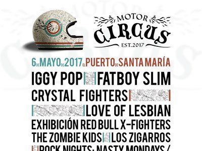 Motor Circus pone música al GP de España: Iggy Pop, The Zombie Kids, Crystal Fighters...