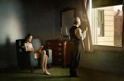 Del cuadro a la fotografía: Richard Tuschman recrea con maestría la obra de Edward Hopper