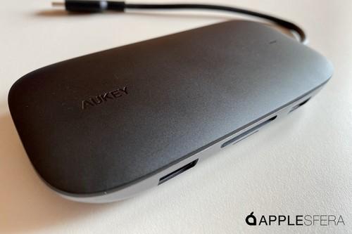 AUKEY CB-C71 el hub de ocho puertos ideal para nuestro Mac o iPad Pro