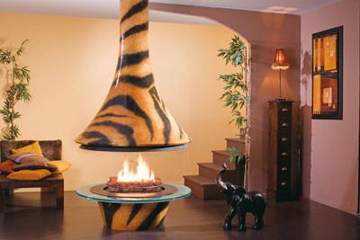 Chimeneas diseñadas por Paco Rabanne para los hogares más exóticos