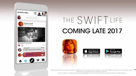 Taylor Swift anuncia su propia red social para fans llamada The Swift Life